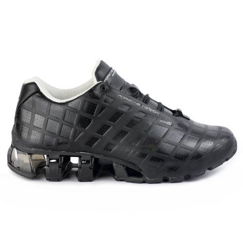 Adidas Porsche Design Bounce S3 Leather Running Shoe Black Mens 10 5 ... f7456ec523