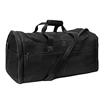 Cape Cod Leather World Traveler Duffle Bag - Colombian Leather