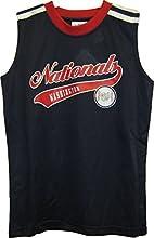 Washington Nationals NavyRed MLB Youth Tank Top amp Shorts 2 Piece Set