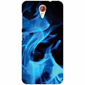 HTC Desire 620 Back Cover - Blue Fog Designer Cases