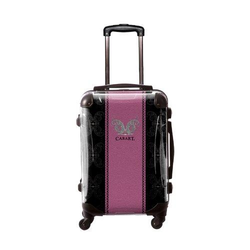 キャラート アートスーツケース ベーシック グラム フレーム4輪 機内持込 ((パーブル)CRA01-004A)