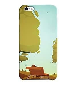 Mental Mind 3D Printed Plastic Back Cover For Apple iPhone 6 -3DIP6-G974