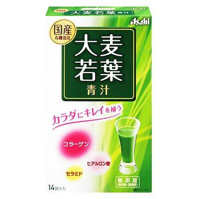 アサヒ 大麦若葉青汁 14袋