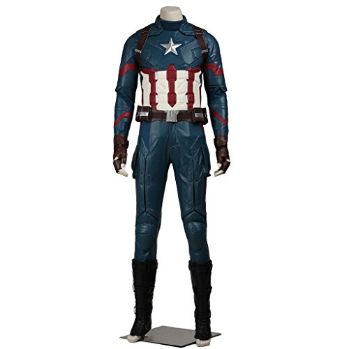CosplayDiy Men's Suit for Captain America 3 Civil War Cosplay Costume CM (Captain America Uniform compare prices)