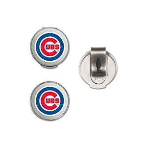 Mlb Hat Clip Ball Markers Chicago Cubs by McArthur Sports