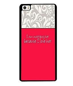 Fuson 2D Printed Love Designer back case cover for Xiaomi MI 5 - D4292