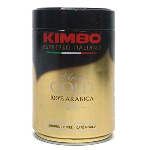 Kimbo Espresso Italiano Aroma Gold 100% Arabica Ground Coffee, 8.8 oz (Espresso From Italy compare prices)