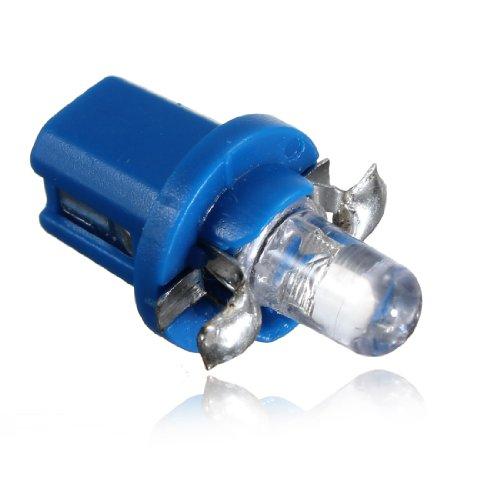 10x ampoule led compteur tableau de bord b8 5d t5 lampe avec support bleu tuning auto voiture. Black Bedroom Furniture Sets. Home Design Ideas