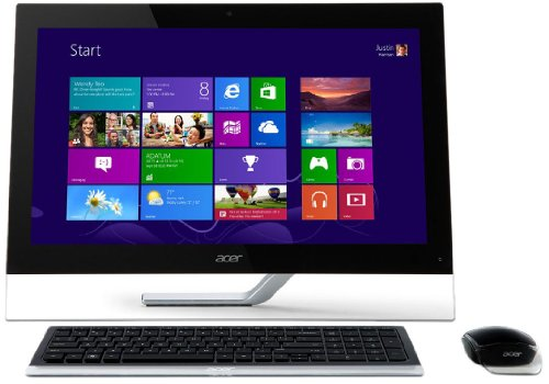 Acer Aspire A5600 23 inch Touchscreen All-in-One PC (Intel Core i3 3110 2.4GHz, 4Gb RAM, 500Gb HDD, DVDRW, LAN, WLAN, Integrated Graphics, Windows 8)