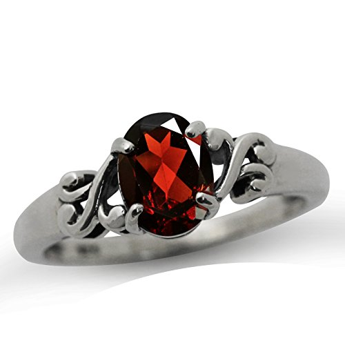 134ct-natural-garnet-925-sterling-silver-victorian-style-solitaire-ring-size-6