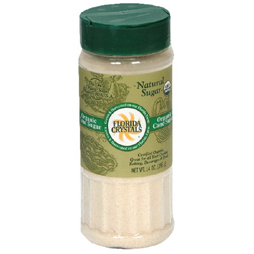 Buy Florida Crystals Organic Sugar, Cane, 14-Ounce Canister (Pack of 6)