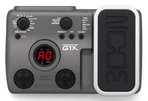 Zoom G1X guitar floor board pedal inc PSU