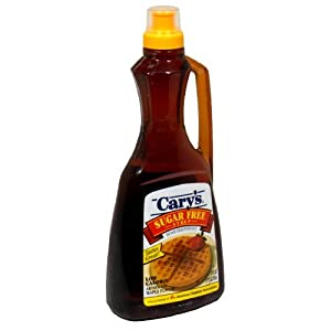 Cary's Sugar Free Syrup, 24-Ounce (Pack of 4)