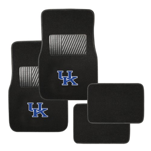 Pilot Alumni Group FM-922 Universal Fit Four Piece Floor Mat Set (Collegiate Kentucky Wildcats) (Kentucky Wildcats Car Mats compare prices)