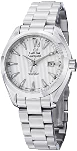 Omega Men's 231.10.34.20.04.001 Aqua Terra Ladies Automatic 34mm Analog Display Swiss Automatic Silver Watch