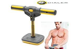 Buy Ab Dialer Abdominal Exercise Workout System w  3 Weight Springs and Adjustable Resistance Plus Bonus DVD, by As Seen On TV