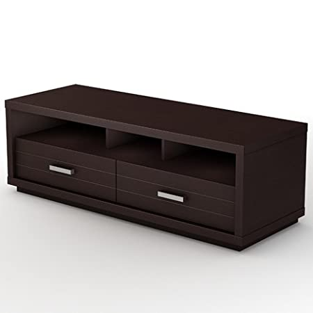 South Shore Skyline Chocolate TV Stand, for TVs up to 52""
