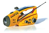 Safe-T-Proof Solar, Hand-Crank Emergency...