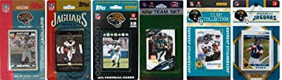 NFL Jacksonville Jaguars Six Different Licensed Trading Card Team Sets