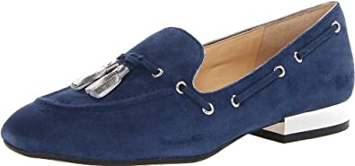 Ivanka Trump Women's Nandy Moccasin,Blue,5.5 M US
