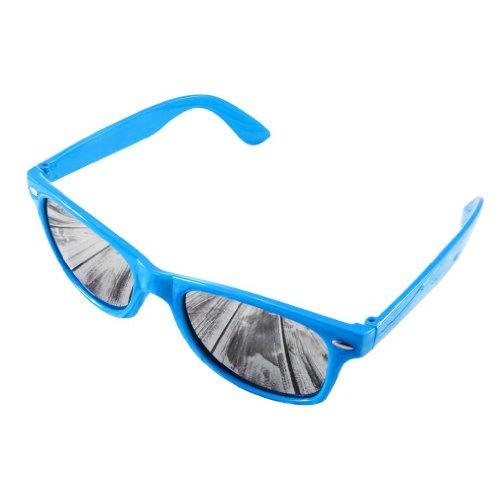 4soldDamen Sonnenbrille schwarz schwarz Universal schwarz mirror torquose Universal
