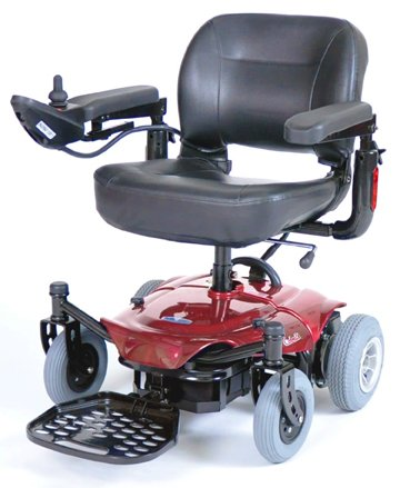 Drive Medical Cobalt X23 Power Wheelchair, Red
