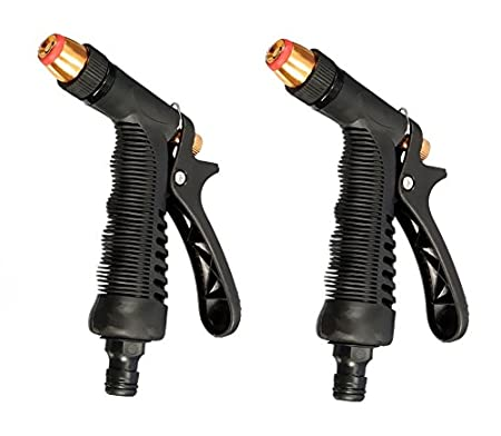 HSR Set of 2 Plastic Trigger and Brass Nozzle Car Wash Water Gun Spray available at Amazon for Rs.129