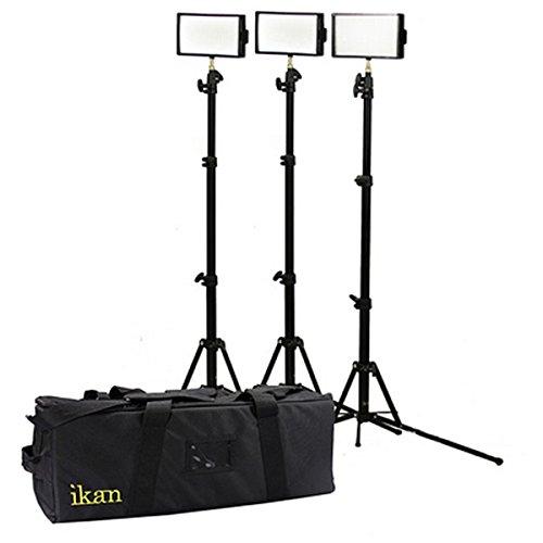 Ikan Iled312-V2-Kit | 3X Iled312-V2 Bi Color Lights Kit
