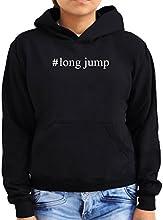 Long Jump Hashtag Women Hoodie