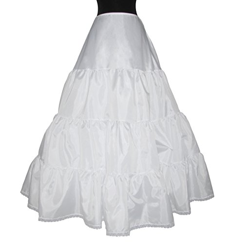 Bridal Slip 930 Triple Ruffle Extra Full Ball Gown Skirt