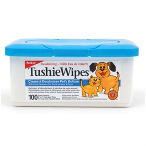 Petkin Tushie Wipes 100 PCS