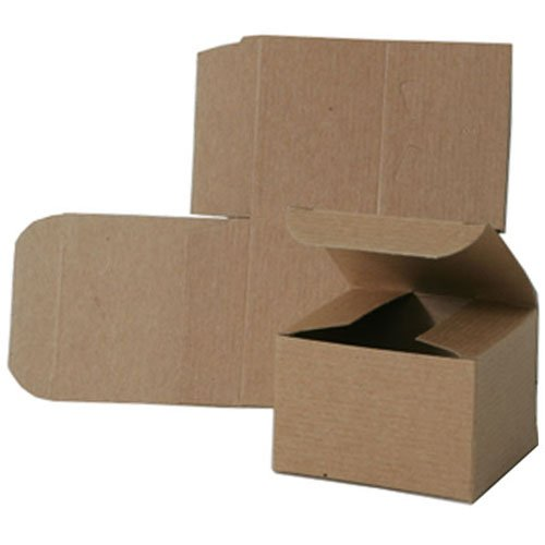 3x3x2 Open Lid Kraft Gift Boxes - Sold individually