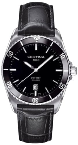 Certina Men's Watch Analogue XL Leather C014,410,16,051,00 Quartz