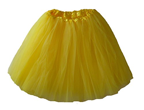 Southern Wrag Company Big Girls Long Tutu Yellow Waist 18-36 Length 16-17