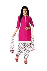 Aarvi Women's Cotton Unstiched Dress Material Multicolor -CV00108
