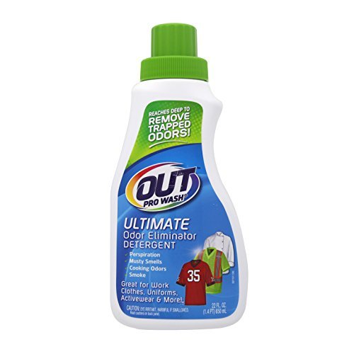 ProWash Activewear Detergent Pro Wash 24 fl. Oz. Ultimate Odor Eliminator, Removes Sweat Urine Pet Odors by Pro Products