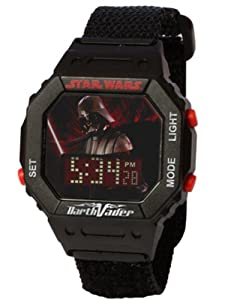 Star Wars Kids' 9005862 Star Wars Darth Vader Digital Wrap Strap Watch