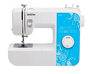 Brother Sewing Machine LX2500 17 Stitch - 4 Step Buttonholer +Bonus Walking Foot by Brother