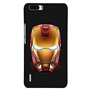 Jugaaduu Superheroes Ironman Back Cover Case For Honor 6 Plus