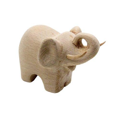 象のかたちの眼鏡置き WOOD Elephaant Glasses Holder [BEECH] ウッド エレファント グラシーズ ホルダー
