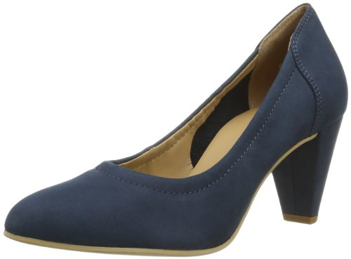 Högl shoe fashion GmbH Womens 7-106113-31000 Closed Blue Blau (navy 3100) Size: 38