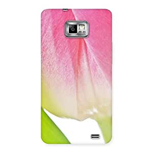 Delighted Pink And White Back Case Cover for Galaxy S2