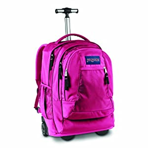 Driver 8 Wheeled Backpack Pink Tulip