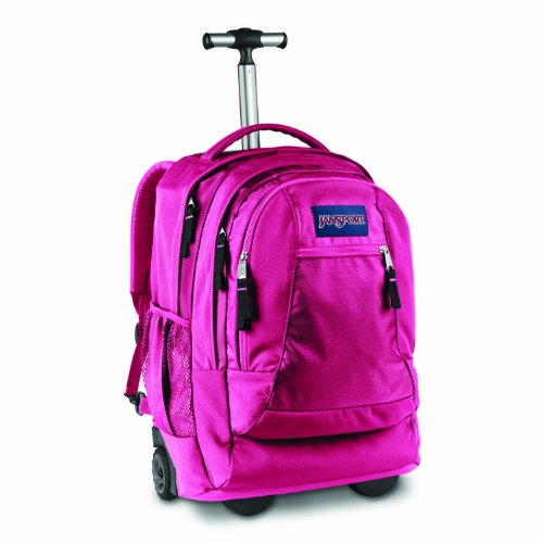 Driver 8 Wheeled Backpack (pink tulip)