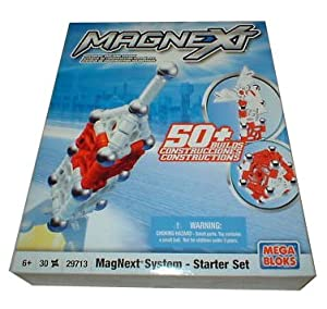 MagNext System Starter Set Mega Bloks 29713 30 pieces