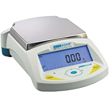 Adam Equipment PGW 2502e Precision Balance,  17 Weighing Units, 2500g Capacity, 0.01g Readability