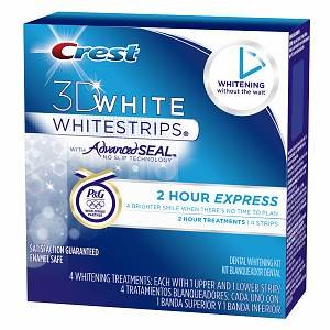 Best Cheap Deal for Crest 3d White 1-Hour Express Teeth Whitening Kit, 4 Treatments - 8 Strips (packaging may vary) by Proctor & Gamble - Free 2 Day Shipping Available