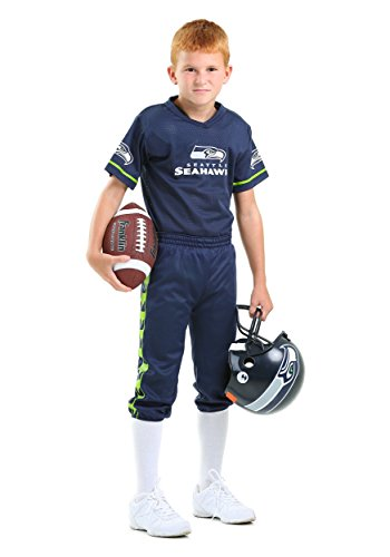 Franklin Sports NFL Seattle Seahawks Deluxe Youth Uniform Set, Small (Child Football compare prices)