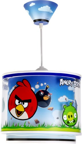 Dalber Lampe de Plafond - Suspension - Angry Birds