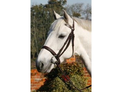 JHL Hunter Bridle - Black Cob